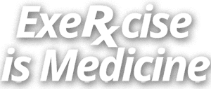 Exercise is RX Medicine logo